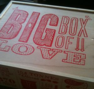 Fifteen Big Box of Love